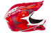 ONeal Warp Fidlock Downhill helm Edgy Camo rood